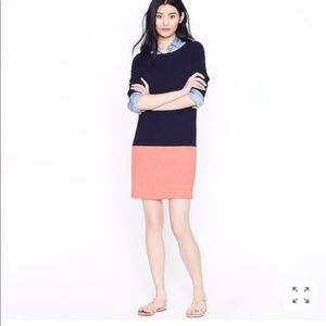 J Crew Nautical Colorblock Sheath Dress